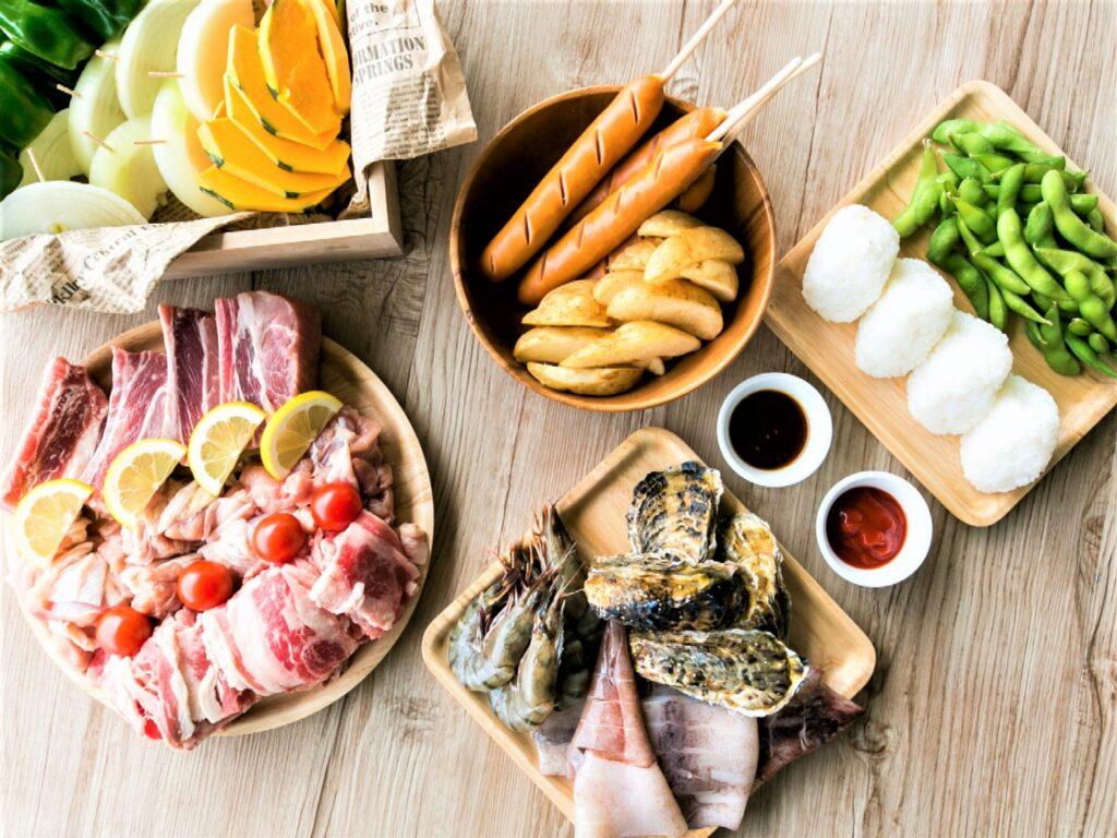 ●夕食BBQシーフードMix●夕日きらめく三河湾で家族や友人とオーシャン・バーベキュー【先着3部屋】